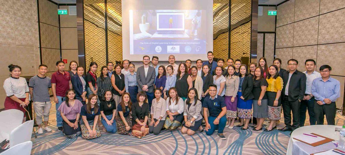 """Đại diện OCD tham luận tại Diễn đàn nguồn nhân lực 2019 """"Open and Ready for HR Technology"""" tổ chức tại Vientiane, Laos"""