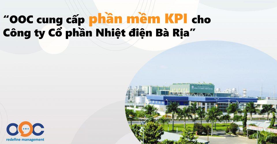 Cung cấp phần mềm KPI cho Công ty Cổ phần Nhiệt điện Bà Rịa